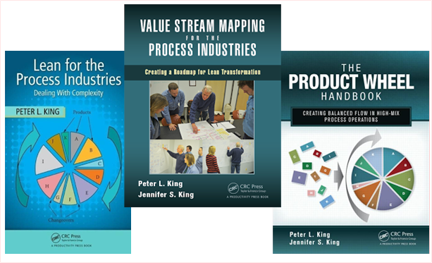 Process Industry Value Stream mapping books by Peter King